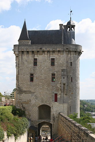 Château de Chinon - La Tour de l'Horloge (clock tower)