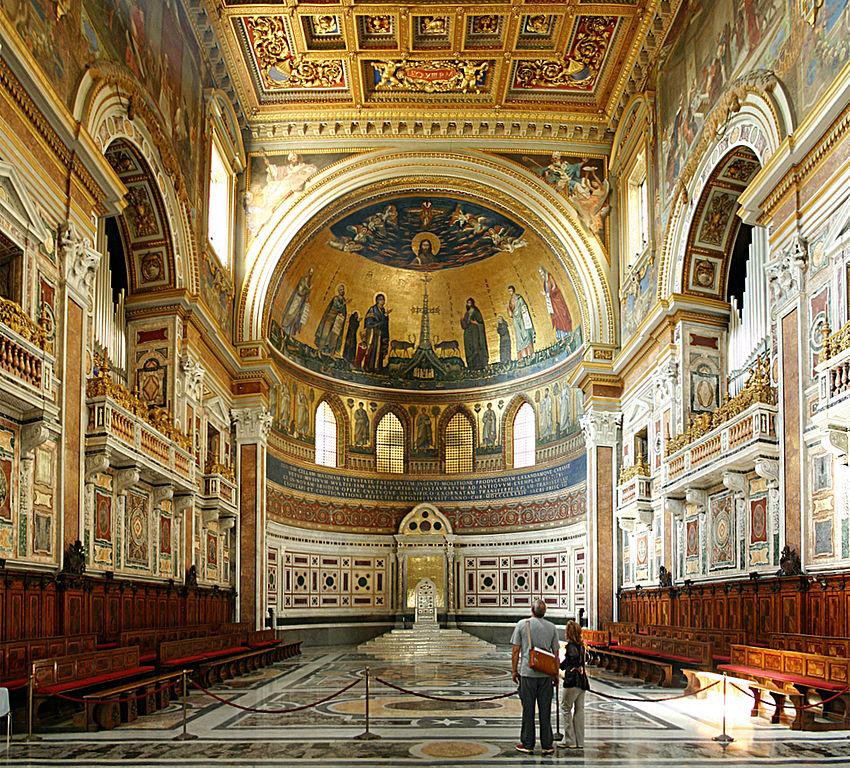 Choeur de la Basilique Saint Jean de Latran - Photo de Stefan Bauer