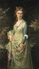 Christina Nilsson, 1843-1921, opera-singer, as Ofelia (Alexandre Cabanel) - Nationalmuseum - 18635.tif