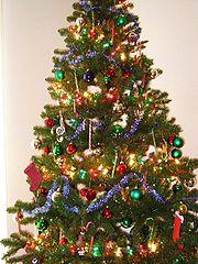 Decoration Sapin De Noel Avec Naperon