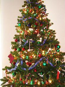 decoracin de un rbol de navidad - Arbol De Navidad