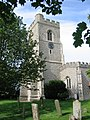 Church Tower, Marsworth Parish Church - geograph.org.uk - 1198515.jpg