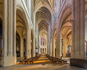 St-Gervais-et-St-Protais - Interior of the Church of Saint-Gervais-et-Saint Protais