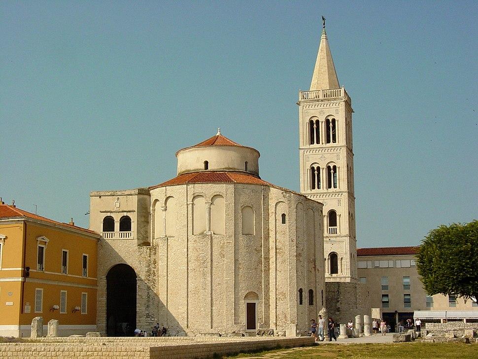 Church of St. Donat in Late Afternoon Light - Zadar - Croatia