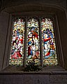 Church of St Andrew's, Boreham, Essex - 1878 Gothic Revival stained window.jpg