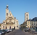 Church of St Etienne-du-Mont, Clovis bell tower - Paris, France - panoramio.jpg