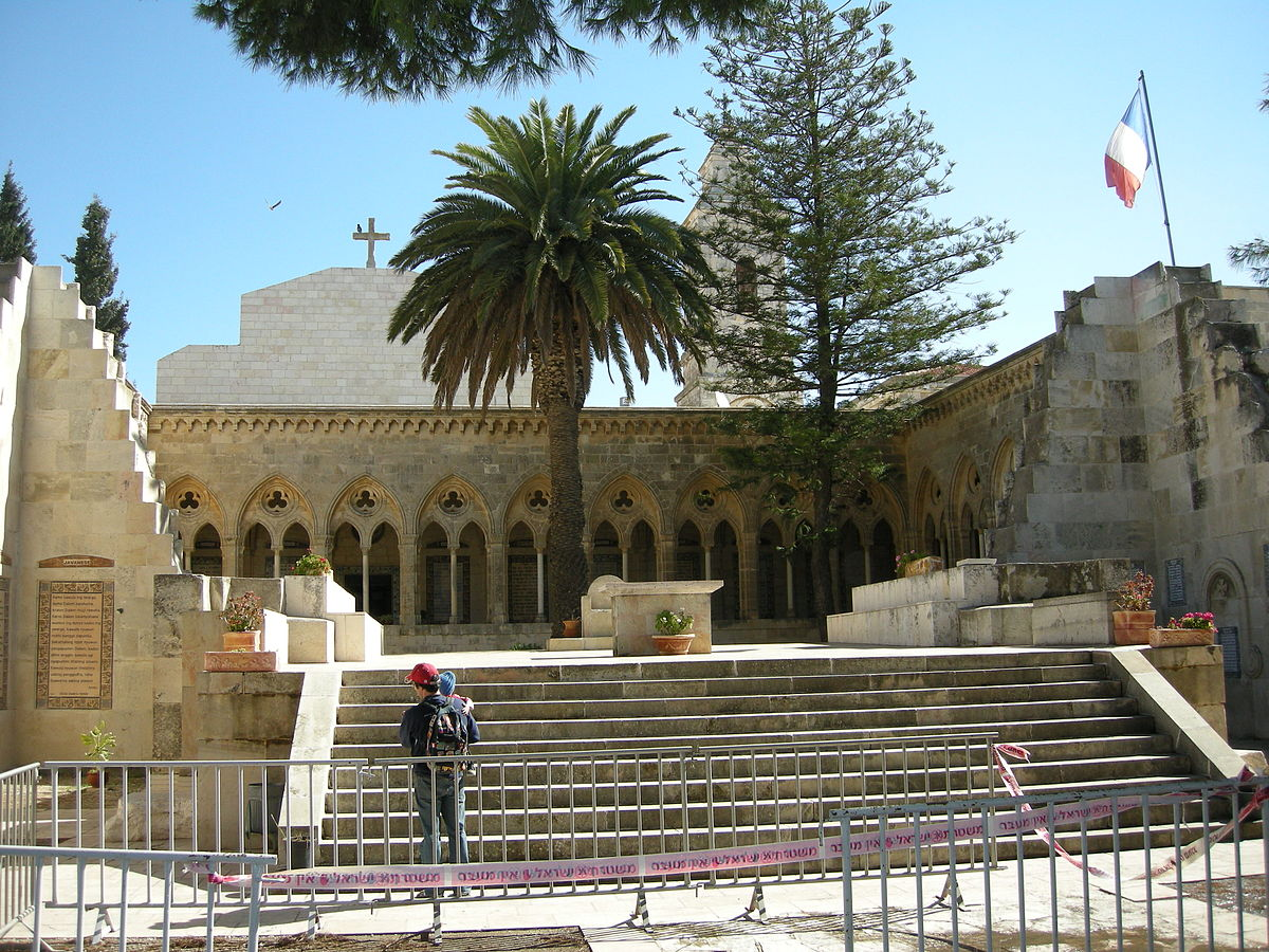 Church of the Pater Noster - Wikipedia