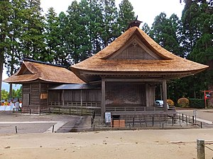 Chūson-ji - Image: Chuson ji Noh Stage 03