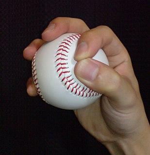 Circle changeup Baseball pitch