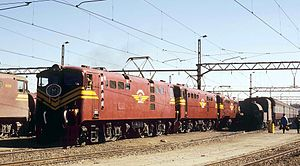 South African Class 5E1, Series 4 - Image: Class 5E1 Series 4 E866