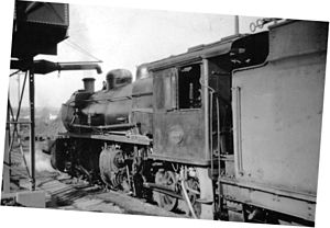South African Class MJ1 2-6-6-0 - Image: Class MJ1 no. 1668