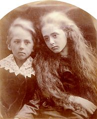 Claud & Lady Florence Anson, by Julia Margaret Cameron.jpg