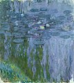 Claude Monet - Water Lilies, Willow Reflection.jpg