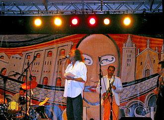 Lolli in concerto nel 2005