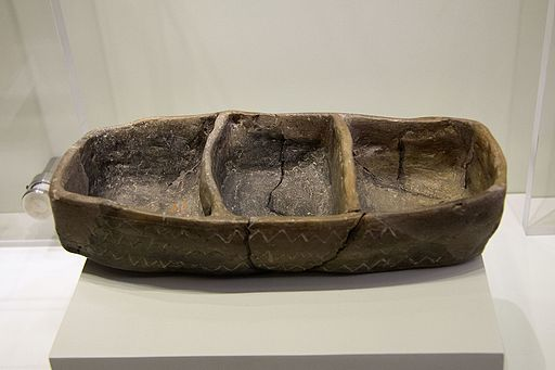 Clay model of a boat. Crete, Neolithic, 5300–3000 BC, AMH, 144508
