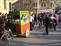 Cleanup after Hosni Mubarak's departure, Cairo, Egypt (from Al Jazeera) - 20120212-03.jpg