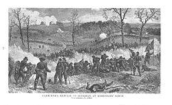 Cleburne's Repulse of Sherman at Missionary Ridge