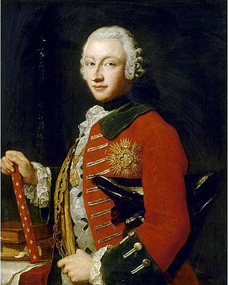 Victor Amadeus III of Sardinia - Portrait by Maria Giovanna Clementi