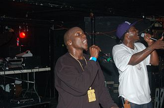 Clipse - Clipse at The Middle East in February 2007