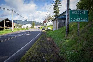 Cloverdale, Oregon Census-designated place in Oregon, United States