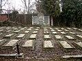Cmentarz żydowski Bielsko-Biała - groby poległych w I WŚ.jpg