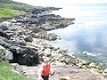 Coastline at Bagh Ghobhaig - geograph.org.uk - 1921249.jpg