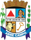 Official seal of Abre Campo
