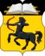 Pechatniki縣 的徽記