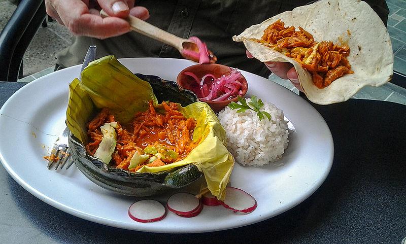 Comida mexicana típica