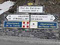 Col du Galibier - Panneaux au col.JPG