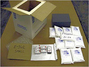 Drug distribution - Image: Cold control packaging