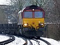 Cold steel (empty) 66206 Dollands Moor to Scunthorpe 4E26 from Ebange (16272273949).jpg