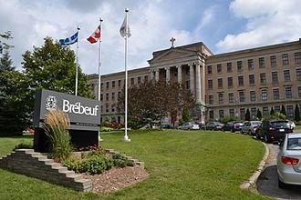 Collège Jean-de-Brébeuf - Main entrance