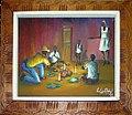 Collectie Nationaal Museum van Wereldculturen TM-4933-22 Voodoo tafereel Haiti.jpg