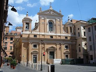 Santa Maria in Aquiro - Image: Colonna S. Maria in Aquiro