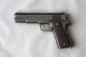 Weapons of the Lebanese Civil War - Colt M1911A1 pistol