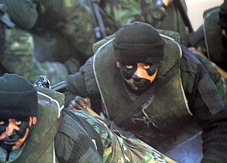 """1º Compañía de Comandos """"Iquique"""" - Image: Comandoscl"""