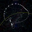 Comet Hyakutake skyview 1996.png