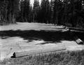 Completed parking area for picnic area and parking stop at Cedar Breaks National Monument campground. ; ZION Museum and Archives (56cecb1f456b41f3a32c4bf54942a5ef).tif