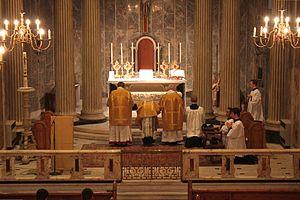 Penitential Rite - Confiteor said by the priest at a Solemn Mass