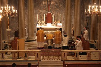Confiteor - Confiteor said by a priest in a Solemn Mass