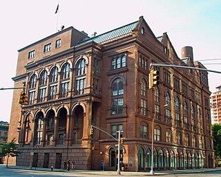 Cooper Union college in New York City