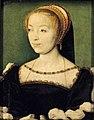 Corneille de Lyon - Portrait of Louise de Rieux - WGA05237.jpg
