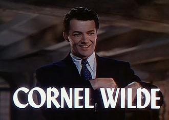 Cornel Wilde - Wilde in Leave Her to Heaven (1945)