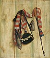 Cornelius Norbertus Gijsbrechts - Trompe l'Oeil with Riding Whip and Letter Bag - KMS3066 - Statens Museum for Kunst.jpg