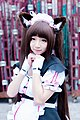 Cosplayer of Chocola, Nekopara at FF29 20170212f.jpg