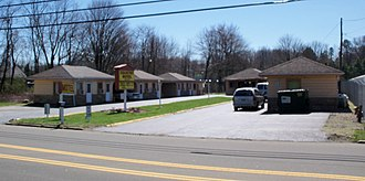 Tuscarawas Township, Stark County, Ohio - an old Motor Lodge on the Lincoln Highway
