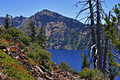 Crater Lake Near Wizard Island Rim.jpg