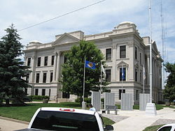 Crawford courthouse denison iowa
