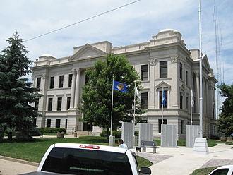 Crawford County, Iowa - Image: Crawford courthouse denison iowa
